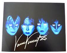 Vinnie Vincent KISS Autographed Signed 16X20 Photo PSA BAS Guaranteed #4