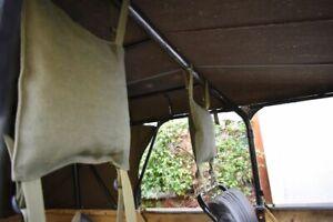 UAZ 469, UAZ 3151, Kopfstützen für die vorderen Sitze aus Stoff, 2 Stück