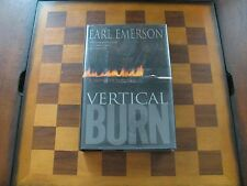 Vertical Burn-Earl Emerson-1st Ed./1st Print.-Signed-Hardcover-Fire Fighting-