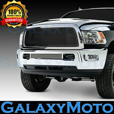 13-17 RAM 2500+3500+HD Front Hood Black Billet Grille+Replacement+Chrome Shell