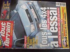 ** 4x4 Tout terrain magazine n°134 71 modèles testés / Isuzu challenge 2000