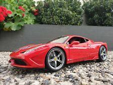 Maisto Ferrari 458 Speciale Diecast 1:18/ Maisto Special Edition Brand New