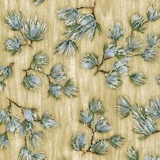 Cotton Quilt Fabric Winter Grandeur 2 Cream SRKM-14585-84 by the yard