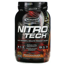 Muscletech  Nitro Tech  Whey Isolate   Lean Musclebuilder  Milk Chocolate  2 00