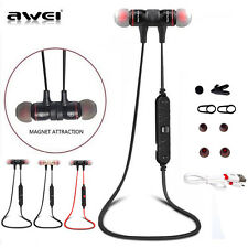 Awei A920BL Wireless Bluetooth 4.1 Stereo Headsets Sport Earphones Mic Universal