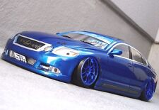 D-Like 1/10 RC LEXUS GS450h  197mm Clear Body Drift Hashiriya Pandora Yokomo