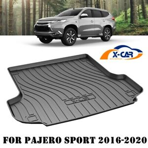 Heavy Duty Cargo Mat Boot Liner Luggage Tray for Mitsubishi Pajero Sport 2015-21