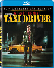 Taxi Driver Blu-ray 2-Disc Set 40th Anniversary Edition Digital New Sealed Us