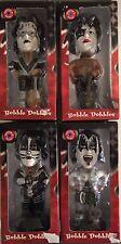 KISS Bobble Dobbles Bobblehead Dolls Set of 4 Simmons Frehley Criss Stanley
