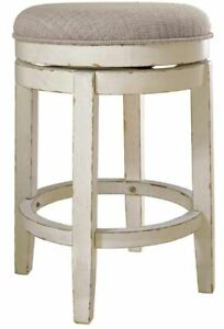 Rustic Counter Height Bar Stool Realyn NiB
