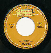 """BUDDY HOLLY WITH THE CRICKETS 45 TOURS 7"""" GERMANY PEGGY SUE"""