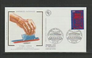 France 1998 SG3463 Yvert 3132 FDC (Paris) Bicentenary of National Assembly-1798