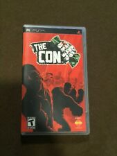 Sony PlayStation PSP Video Game The Con Rated T