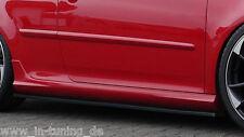Cup retrasadas faldones sideskirts ABS para VW Golf 5 GTI de Ingo Noak