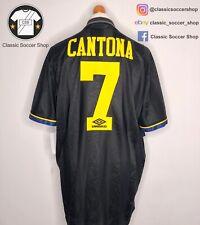 Manchester United CANTONA #7 1993/95 Away Shirt Extra Large / XL