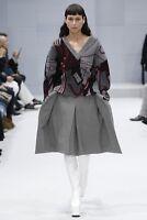 BALENCIAGA Catwalk Oversized Printed knitted wool-blend sweater F 34 UK 6-12