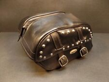 VINTAGE HARLEY DAVIDSON SADDLEMEN DESPERADO RIGID MOUNT SADDLEBAGS 3501-0470