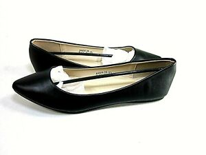 Bella Marie Womens Angie-18 Classic Ballet Slip On Flats, Black US Size 8 M