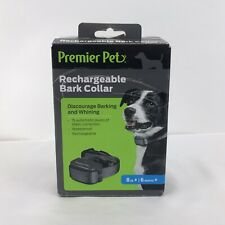Premier Pet Rechargeable bark collar  GBC00-16296