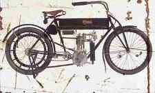 curtiss single 1908 aged vintage schild a3 groß retro