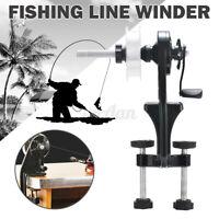 Portable Fishing Line Winder Reel Spooler Machine Spooling Station System  * #