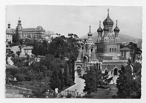 La Cote d'Azur Nice France Imperial Palace Vintage RPPC Postcard