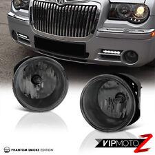 Smoked Chrysler 300 Caliber Bumper Fog Lights Lamp+Bulb Switch Wiring Pair Set