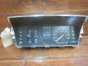 Isuzu I-Mark, Chevrolet Spectrum: 1985 - 1989, Speedometer - Instrument Cluster