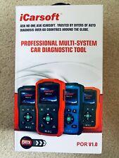 PORSCHE DIAGNOSTIC SCANNER TOOL ABS SRS BRAKE AIRBAG RESET iCarsoft POR V1.0