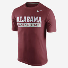 Xl Nike Ncaa Alabama Roll Tide DriFit Crimson Tide Basketball �Training T-Shirt