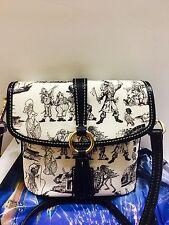 NEW Disney Dooney & Bourke Pirates of the Caribbean Crossbody  Black & White Bag