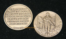 PSALMS 23 LORD IS MY.. CHALLENGE COIN US MARINES NAVY ARMY AIR FORCE PIN UP GIFT