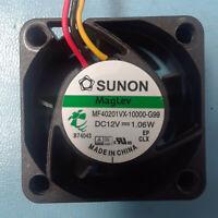 Sunon 40mm x 20mm High Airflow MagLev Fan 3 Pin Vapo 40x20mm MB40201VX-0000-G99