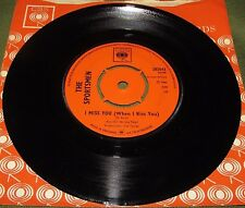 THE SPORTSMEN I Miss You ( When I Kiss You )/ If It's Love Orig 1st UK CBS 1966