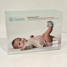 Brand New - Owlet Smart Sock 3rd Gen Voice & Breathing Baby Monitor