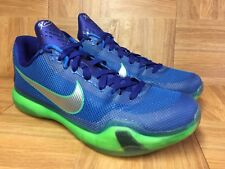 7ca4ccb7d99aa7 RARE🔥 Nike Zoom Kobe 10 X Emerald City Deep Royal Soar Green Sz 12 705317