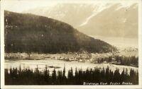 Hyder AK Birdseye View c1920s-30s Real Photo Postcard