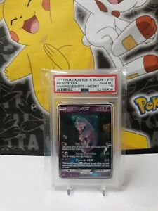 Pokemon MEWTWO GX #78****PSA 10*** Shining Legends Secret Rare Mint