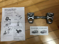 New-Old-Stock WELLGO R-4 Pedals and Cleats w/hardware