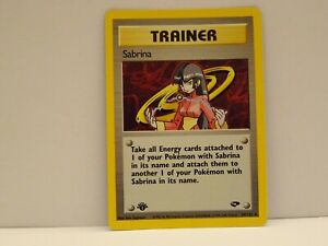 POKEMON CARD TRAINER 20/132 GYM CHALLENGE  HOLO 1ST EDITION NEAR MINT TO MN.