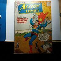 Action Comics 230 10 Cent Cover  About 3.0