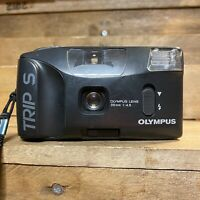 olympus trip S Point & Shoot Compact Film Camera 35mm F/4.5 Lens Lomo Retro