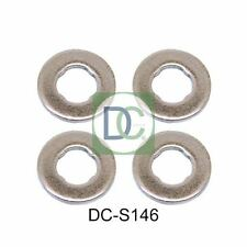 4 x Common Rail Diesel Injector Washers / Seals Bosch Toyota Avensis 1.6 D4-D