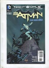 THE NEW 52 BATMAN #8 (9.2) NIGHT OF THE OWLS BEGINS!
