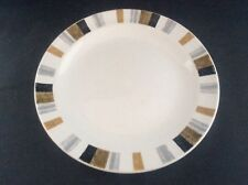 "Vintage 1960's Mid Century Modern Midwinter Queensberry Stripe 6.25"" Side Plate"