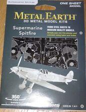 Supermarine Spitfire Metal Earth 3D Laser Cut Metal Model Kit Aircraft MMS110