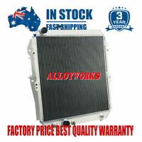 3Rows Aluminum Radiator For 97-05 Toyota Hilux KZN165R 3.0LTR Turbo Diesel AT/MT