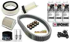 Pack entretien Yamaha 500 Tmax 2001-2007  (Revision complète) Malossi Ipone ETC