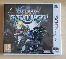 NEW SEALED 3DS game - Metroid Prime Federation Force - plays on 3 ds 2ds