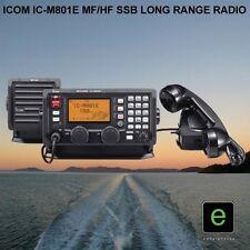 ICOM IC-M801E MARINE MF/HF SSB RADIO TRANSCEIVER WITH REMOTE HEAD